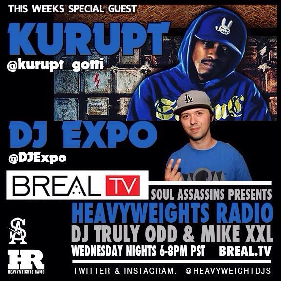 Heavyweights-Radio-Special-Guests-Kurupt-DJ-Expo