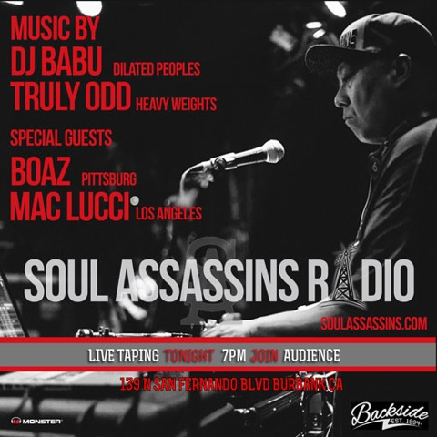 Soul-Assassins-Radio-DJ-Babu-Truly-Odd-Boaz-Mac-Lucci